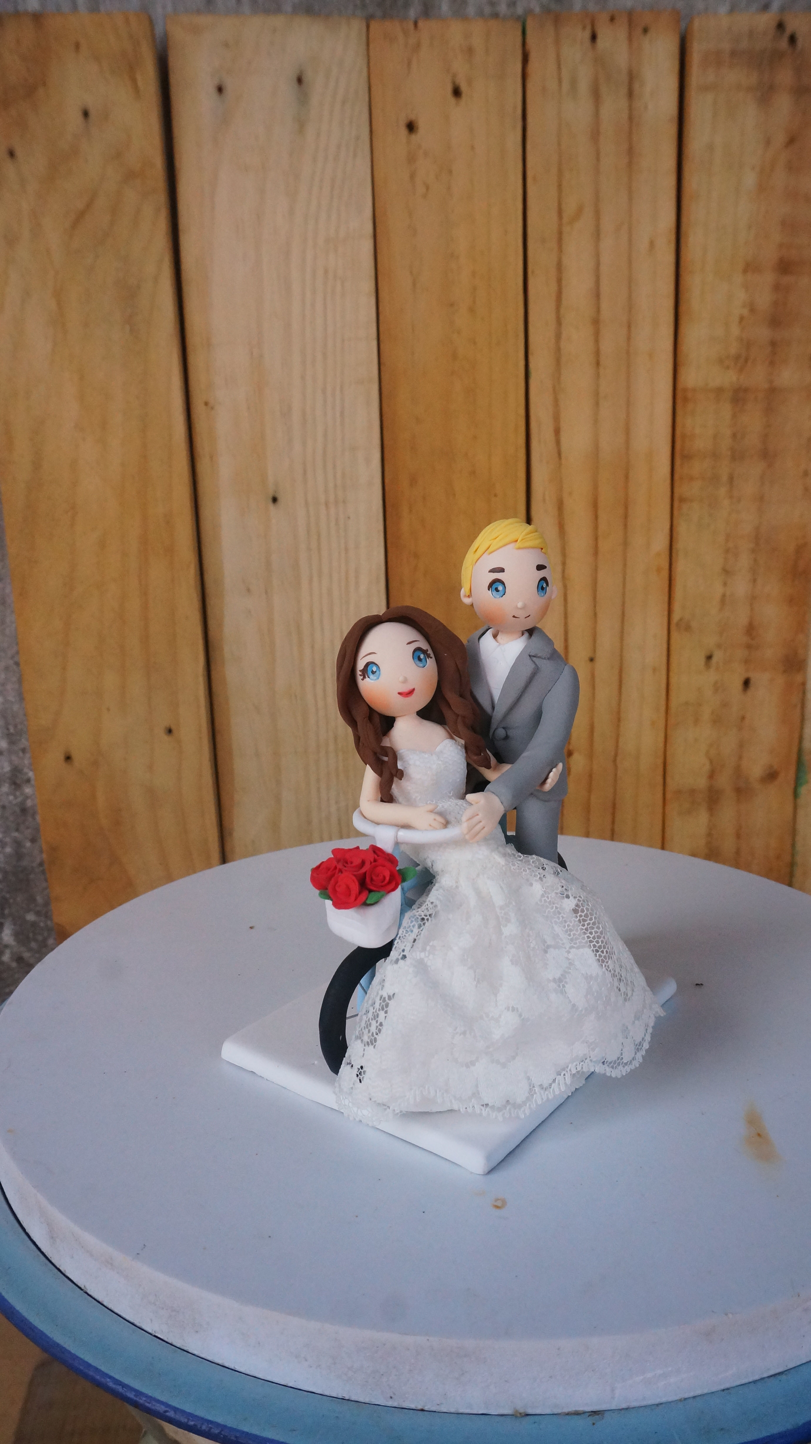 Picture of Bicycle Wedding Cake Topper