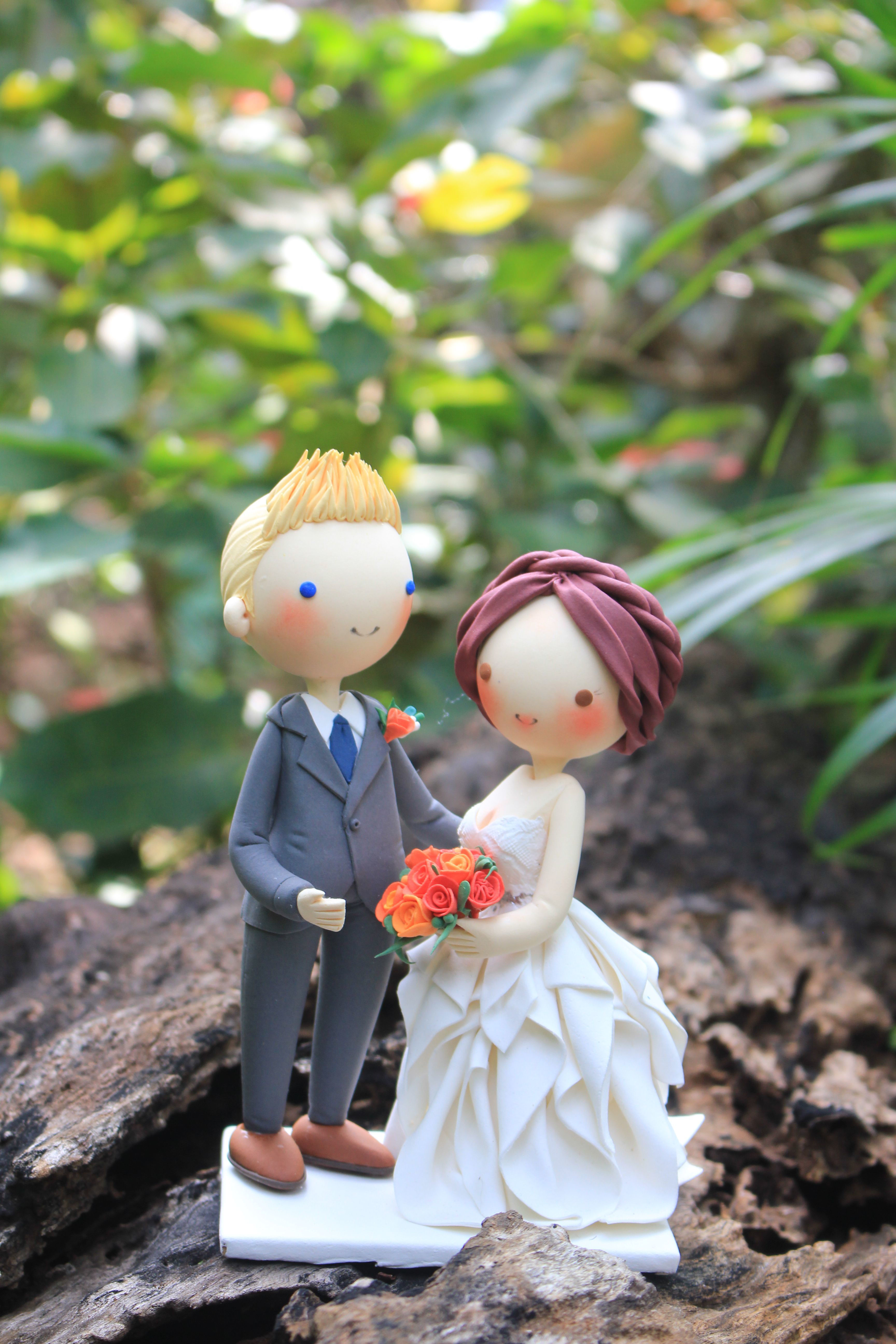 Picture of Love Wedding Cake Topper
