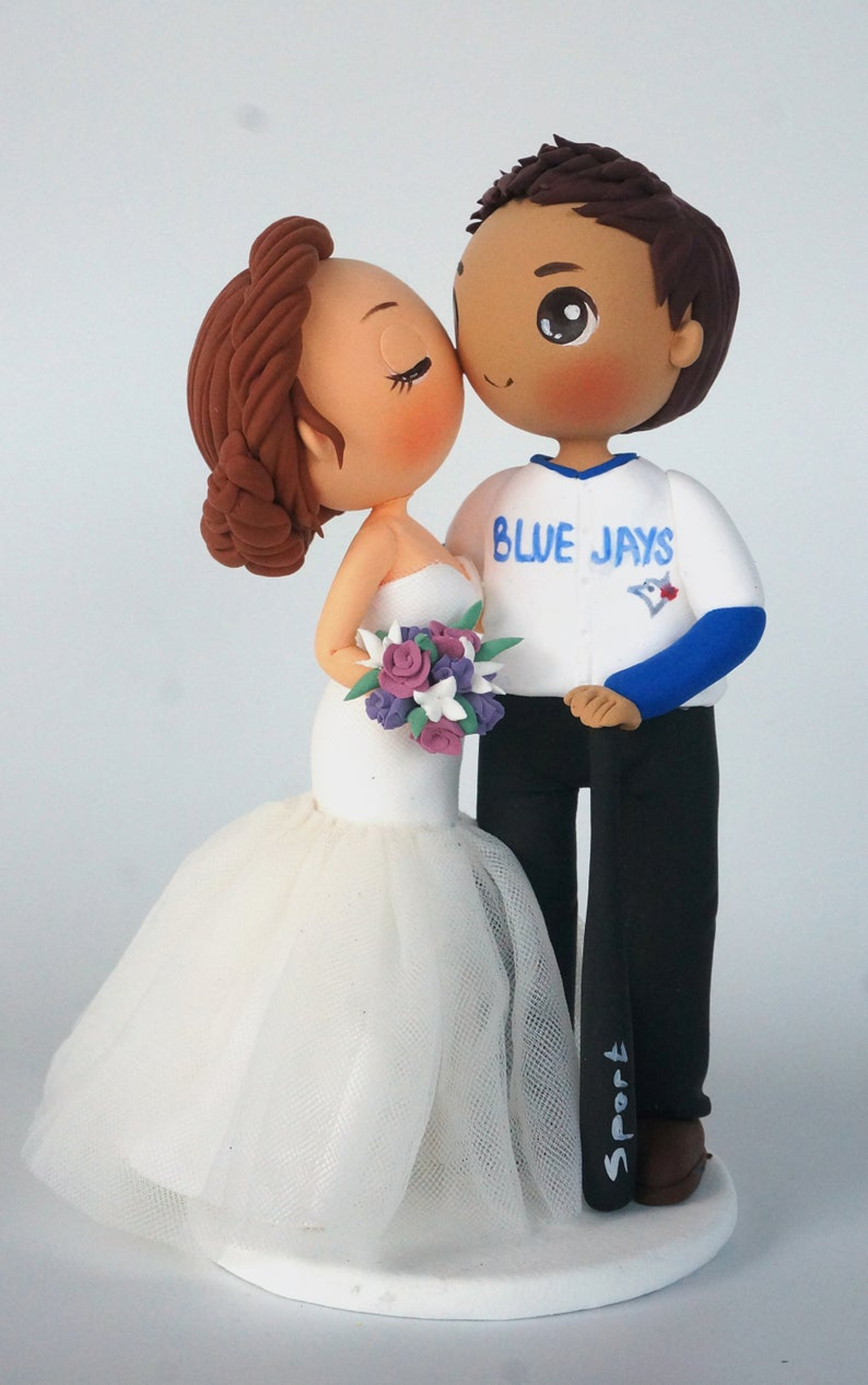 Picture of Toronto Blue Jays wedding cake topper