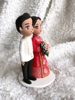 Picture of Wedding cake topper, Filipino and Chinese wedding clay figurine