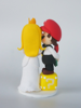 Picture of Mario wedding cake topper