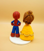 Picture of Spider Man and Bella wedding cake topper